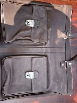 Kenneth Cole - Brown Leather Laptop Bag for Sale in Austin,  TX