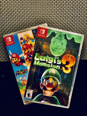 Nintendo Switch Game Bundle**FACTORY SEALED** for Sale in Baltimore, MD