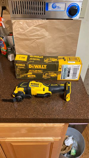Dewalt oscillating multi tool (tool only ) new in box taken for photo only never used for Sale in West Haven, CT