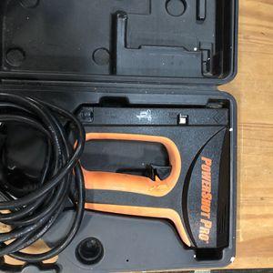 PowerShot PRO Electric Staple and Nail Gun for Sale in Virginia Beach, VA