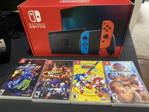 Nintendo Switch Brand new! with 1 game of your choice! for Sale in Orlando, FL