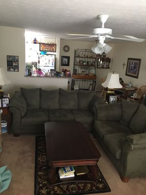 Sofa, love seat and coffee table for Sale in Perry, GA