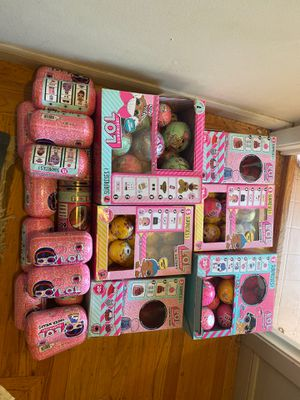 Selling HUGE lol dolls lot approximately 200 balls and capsules for Sale in Daly City, CA