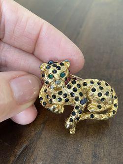 Leopard Pin Rhinestones Vintage for Sale in Zephyrhills,  FL