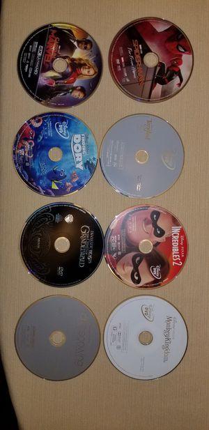 Disney Marvel DVD lot for Sale in Santa Ana, CA