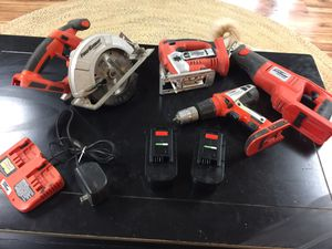 Fire Storm 24 Volt Power Tool Set for Sale in Marshallville, GA
