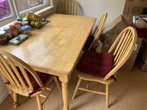 Dining table and 4 chairs for Sale in Newcastle, WA