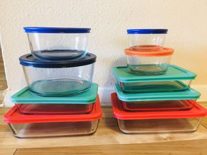 Pyrex glass box set for Sale in Houston, TX