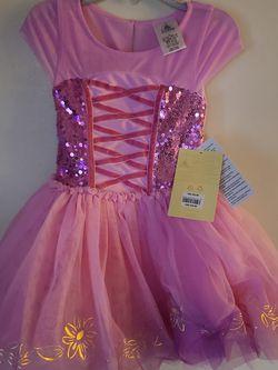 Princess Rapunzel Tutu Dress Size 4 Disney Store for Sale in East Los Angeles,  CA