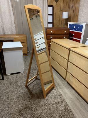 Floor Mirror (Solid wood) for Sale in Auburn, WA