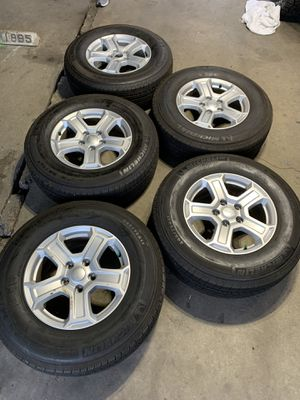 Jeep Wrangler JL stock wheels and tires for Sale in Chicago, IL