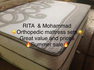 ORTHOPEDIC MATTRESS SETS for Sale in Berwyn, IL