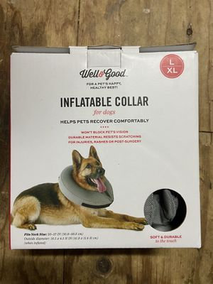 Inflatable pet collar for Sale in Berkeley Township, NJ