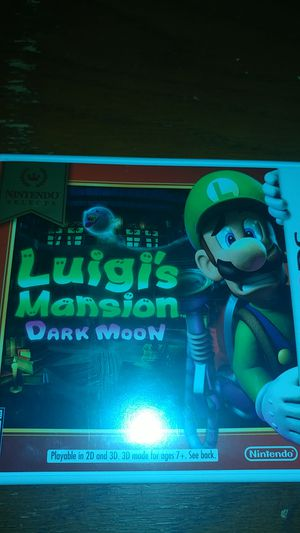 Luigi's mansion dark moon *new* for Sale in Arden Hills, MN