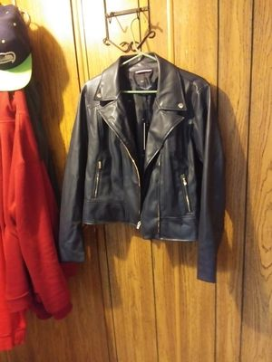 Tommy hilfinger moto jacket size large for Sale in Marysville, WA