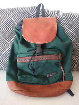 VINTAGE AZTEC x JANSPORT backpack for Sale in Alexandria, VA