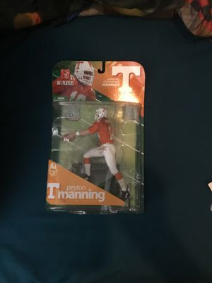 McFarlane Toys NCAA COLLEGE Football Sports Picks Series 1 Action Figure Peyton Manning (Tennessee Volunteers) for Sale in Elk Grove, CA