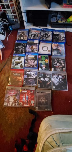 Video Games (Call of Duty, Destiny, Elder scrolls) for Sale in Tigard, OR