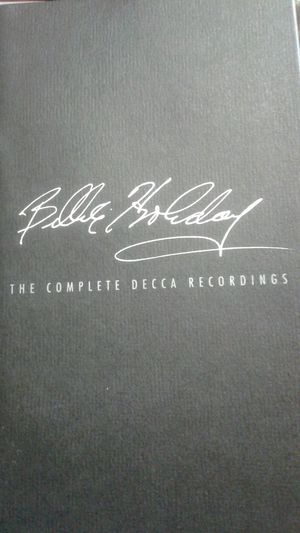 Billie holiday Decca the complete recordings for Sale in Stockton, CA