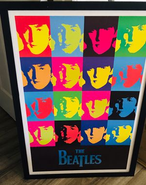 Large Beatles print for Sale in Hollywood, FL