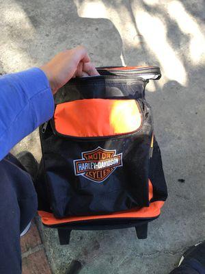 Cooler - Harley Davidson (backpack style) roller for Sale in Westminster, CA