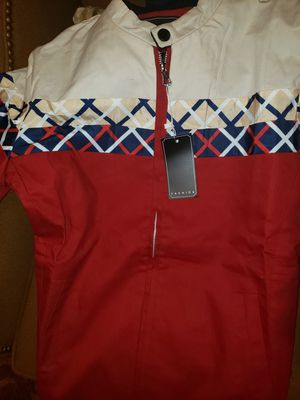 BURBERRY TYPE FASHIONED TRACK JACKET SIZE L ***BRAND NEW*** for Sale in Metairie, LA