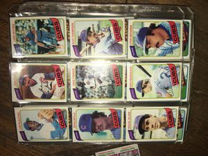 1980 topps baseball cards for Sale in Concord, CA