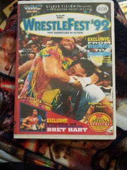 WWF Wrestlefest 1992 Dvd for Sale in Chicago,  IL