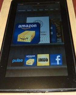 Kindle Fire 🔥 HD 7-in Tablet In Good Condition for Sale in San Diego,  CA
