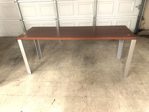 Office tables 6 feet long 2 feet wide 29 inches tall sale single or bundle for Sale in Visalia, CA