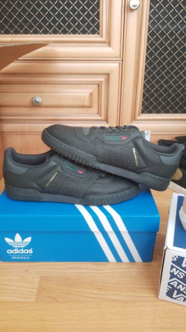 47a7f956e Adidas Yeezy Calabasas Powerphase black size 9.5 new. Rowland Heights ...