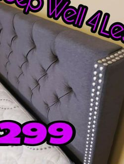 NEW💥QUEEN BED💥PILLOW TOP MATTRESS INCLUDED💥IN STOCK💥 for Sale in Lynwood,  CA