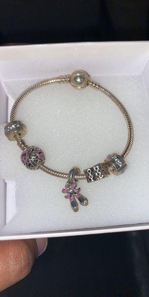 Pandora Bracelet Gift Set Charms Included for Sale in Lakeland, FL