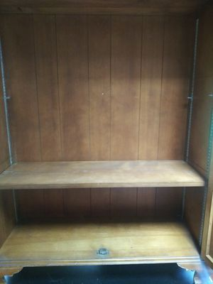 Double glass door cabinet for Sale in Framingham, MA