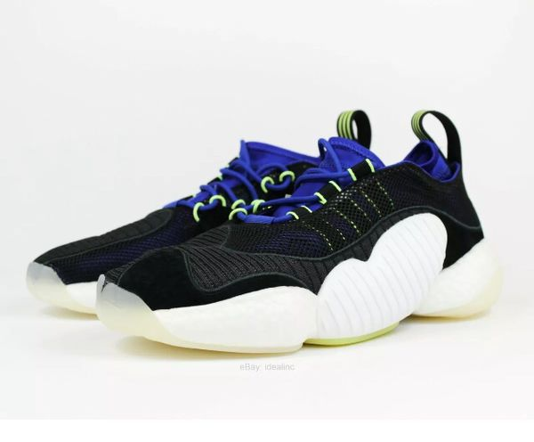 Adidas Crazy BYW II Men's Casual Sneakers BD7998 Core Black size 11
