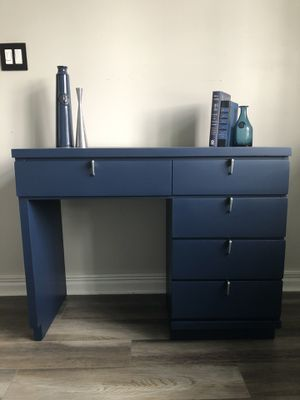 Redesigned Retro Wood Desk/Vanity for Sale in Lockport, IL