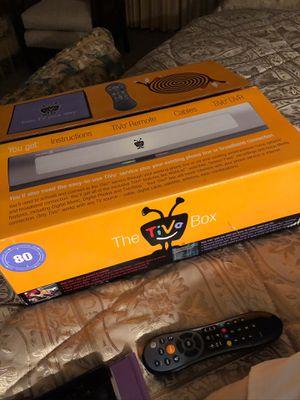TiVo DVR like new in box $50 NO CABLE NEEDED for Sale in Moreauville, LA
