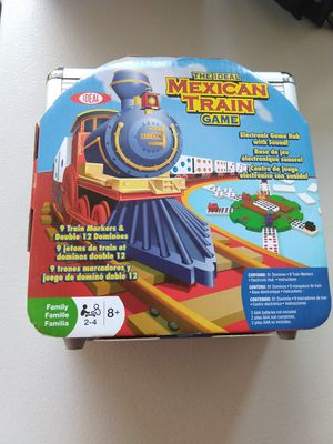 Ideal Mexican Train Game in Storage Tin for Sale in Fort Worth, TX