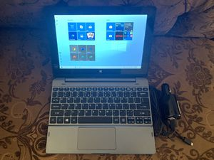 tablet laptop acer 10.1 touchscreen. for Sale in Phoenix, AZ