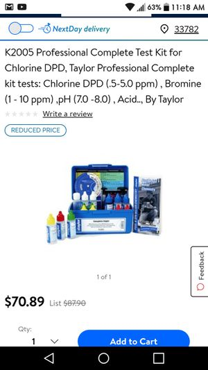Pool test kit for Sale in Kenneth City, FL