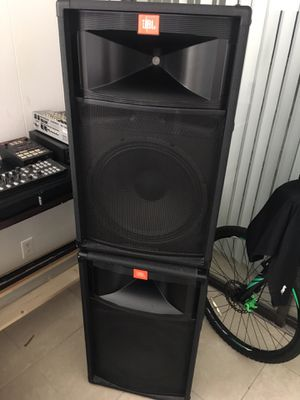 JBL speaker, with stands for Sale in Hollywood, FL