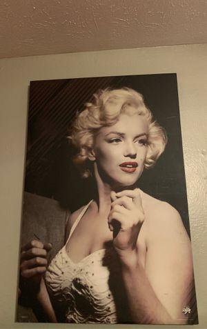 Marilyn Monroe Portrait for Sale in Dallas, TX