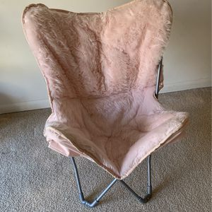 The Big One Pink Butterfly Chair for Sale in Columbia, MD