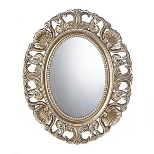 GILDED OVAL WALL MIRROR for Sale in Niceville, FL