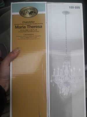 Maria Theresa chandelier for Sale in Tacoma, WA