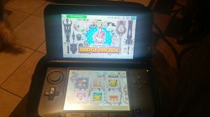 nintendo blue 3dsxl with games for Sale in Long Beach, CA