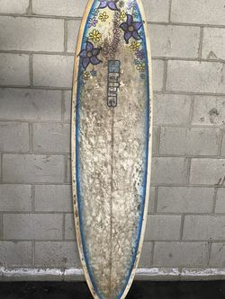 Blue surfboard 6'6ft for Sale in Los Angeles,  CA