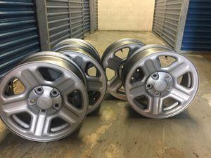 16 inch Steel Wheels for 4x4 Jeep Wrangler for Sale in Medley, FL