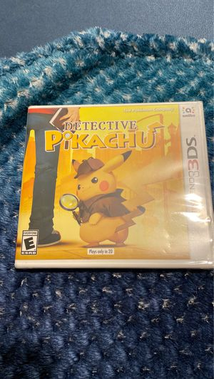 Detective Pikachu Nintendo 3DS game (Hasn't been opened) for Sale in Miami, FL
