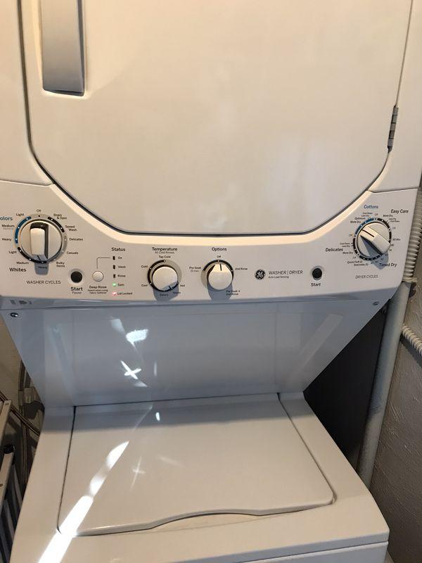 Washer & Dryer GE